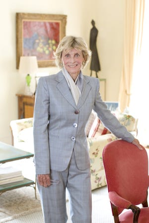 Jean Kennedy Smith poses for a portrait session at home in her New York on Sept. 16, 2010.