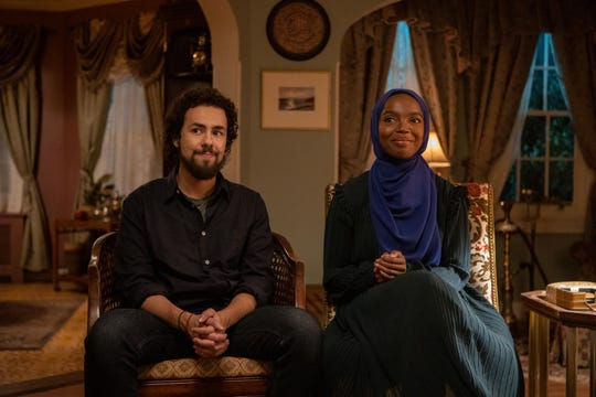 """Ramy (Ramy Youssef) explores his own flaws in Season 2 of Hulu's smart and sometimes sad comedy, sometimes with the help of Zainab (MaameYaa Boafo) on """"Ramy."""""""