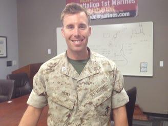Kevin Mott served in Afghanistan