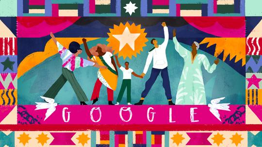 Google's Juneteenth Doodle