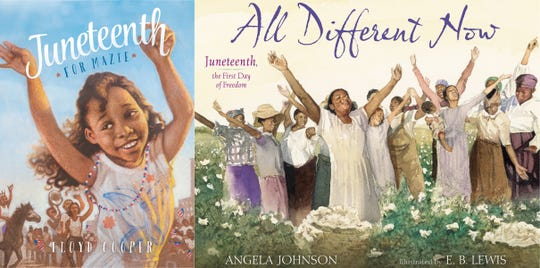 "When it comes to Juneteenth stories for the younger crowd, experts recommend picks like ""Juneteenth for Mazie"" by Floyd Cooper"" and ""All Different Now: Juneteenth, the First Day of Freedom"" by Angela Johnson."
