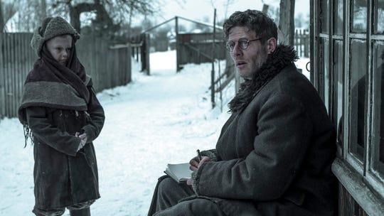 """Welsh journalist Gareth Jones (James Norton) uncovers horrors in 1930s Ukraine in the historical drama """"Mr. Jones."""""""