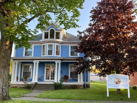 Nostalgia Bed and Breakfast is located at 64 W. Springfield St. in Frankfort, Ohio. The owners purchased the home in 2018 and worked to restore it after it sat idle for years.
