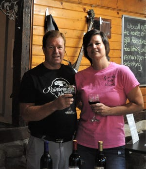 Eric and Traci Dennis bought Rainbow Hills Winery, between West Lafayette and Newcomerstown, in 2018. The winery offers an array of wines and also has a bed and breakfast on the property.