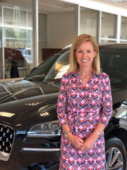 Carrie Way, of Crest Automotive Group, taken at Crest Lincoln on June 18, 2020.
