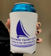 """The Republican National Committee is now sponsoring """"Whitmer Yacht Club"""" koozies in Michigan."""