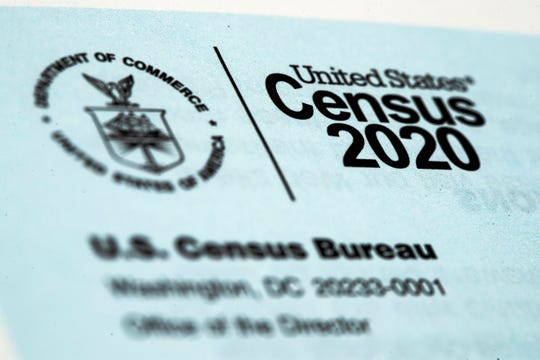 A 2020 census letter.