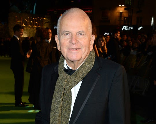 """Actor Ian Holm at the premiere of """"The Hobbit: An Unexpected Journey"""" in London, Dec. 12, 2012."""