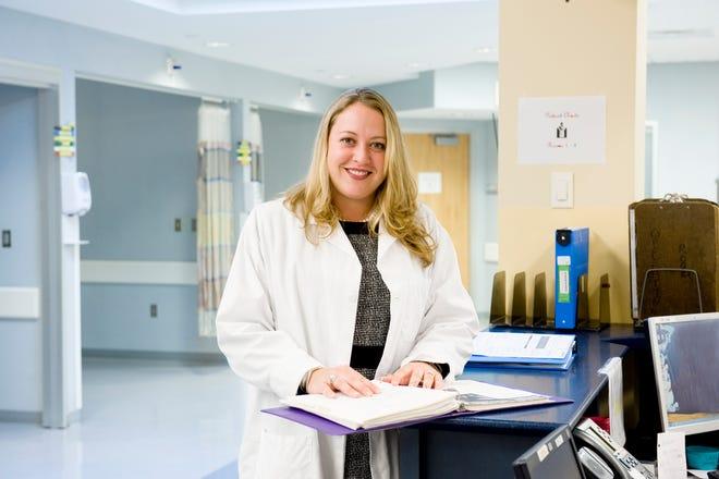 Dr. Deidre Blake, orthopedic surgeon and Medical Director of Cayuga Orthopedics.