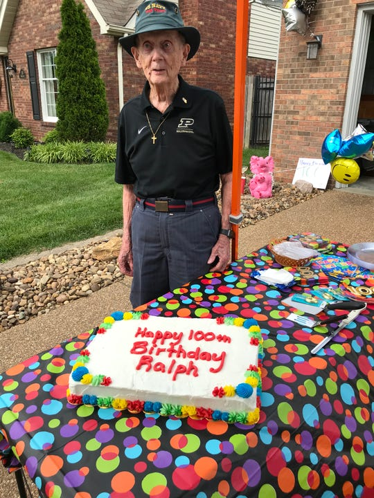 Ralph Probert recently celebrated his 100th birthday with friends and family.