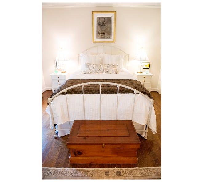 A bedroom designed by Everett Waldrep