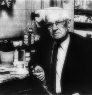 Philip E. King was Kentucky's oldest dentist still active as of mid-1970, at which time he had been a dentist for 68 years. Most of his professional life had been spent in Corydon, although he moved to Henderson in his 80s and continued to make dental plates. (Gleaner file photo)