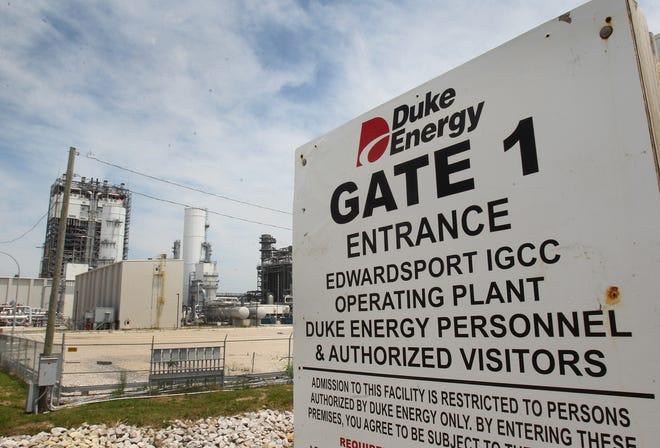Duke Energy's $3.5 billion coal-gasification plant in Edwardsport, shown on Wednesday, June 12, 2013.