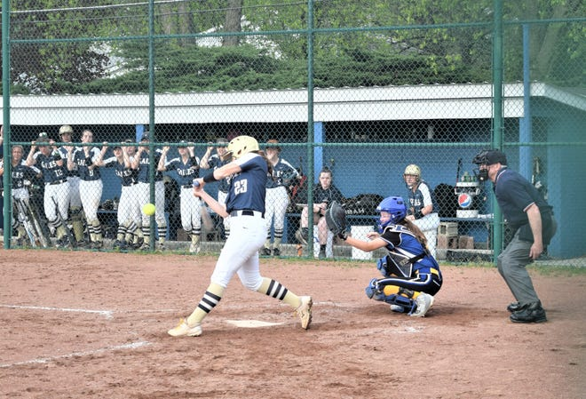 Lancaster's Abbie Wilfing traveled all across the country playing big-time softball with the Chicago Bandits before deciding not to play because she wanted to focus on being a three-sport athlete for the Lady Gales. She has signed to play college softball at Kent State.