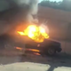 A motorist captured video of a vehicle fire on Interstate 96 Friday, June 19, 2020.