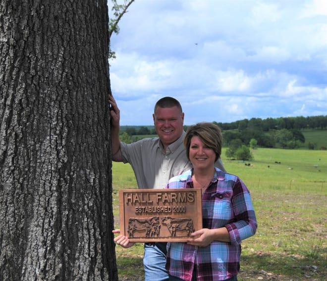 Robert and Sally Hall have been named the Arkansas Farm Bureau 2020 Baxter County Farm Family of the Year.