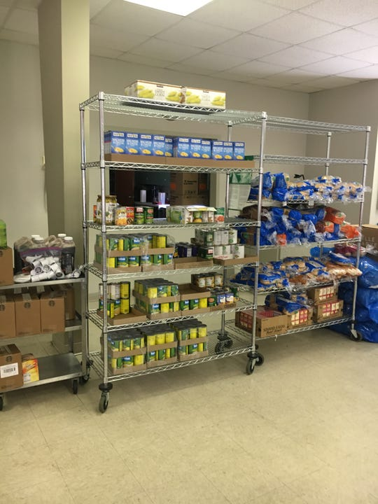 The Woodland UMC pantry served more than 800 people and gave away more than 41,000 pounds of food during the past year.