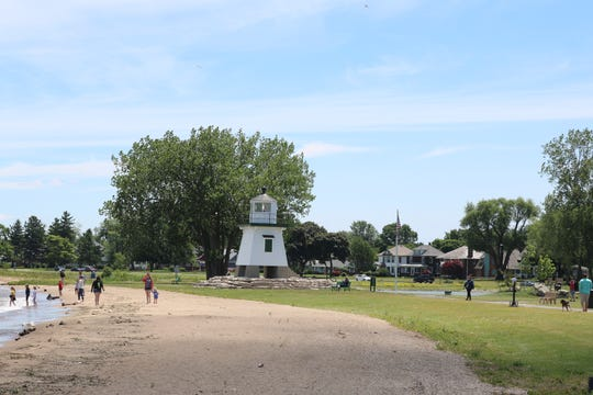 The Port Clinton beach and many other popular spots in the city — most within walking distance — have been seeing a record high number of visitors since things began to reopen.