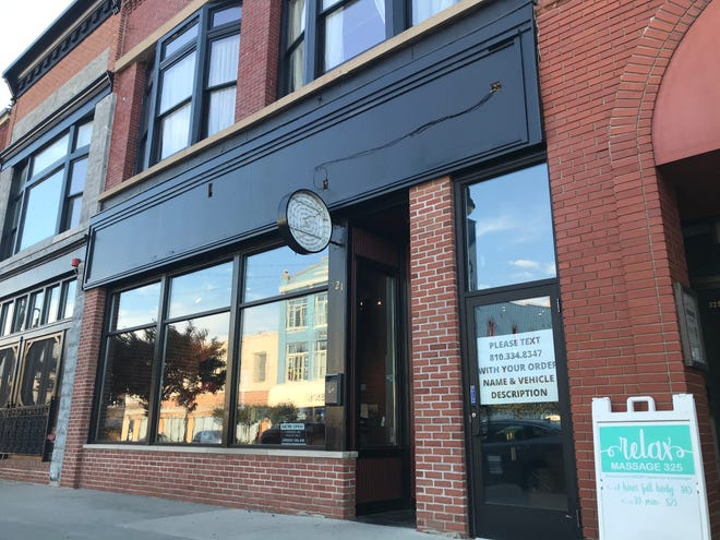 Tio Gordos Cocina after its signage was taken down Friday. The plan is to reopen the space as Martina's Grill in downtown Port Huron.