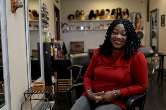 Ola Elkanah owns Flourish Beauty Palace and Spice and African Food in Salem. She's operated the businesses for 10 years, expanding to a new location two 2 years ago.