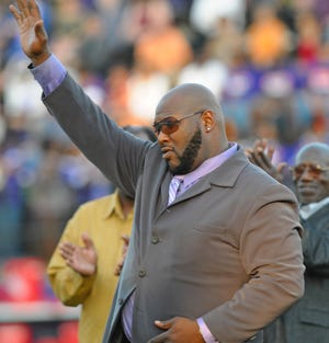 Marcus Spears was recognized as the Demon Great of the Game in 2011.