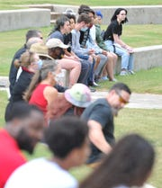 A small crowd gathered in Burkburnett's Friendship Park Friday to celebrate Juneteenth, the day recognized as when, on June 19, 1865, the last slaves learned they had been freed more than two years before by the Emancipation Proclamation.