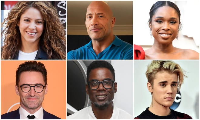 """Celebrities Shakira, Dwayne Johnson, Jennifer Hudson, Hugh Jackman, Chris Rock and Justin Bieber are scheduled to participate in """"Global Goal: Unite for Our Future—The Concert"""" on June 27."""