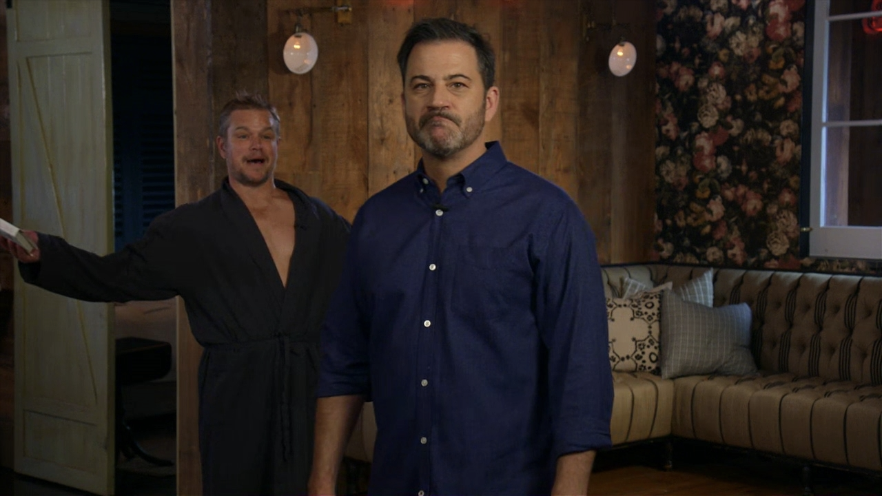 Jimmy Kimmel announces a summer break from his show as Matt Damon crashes to say he isn t happy