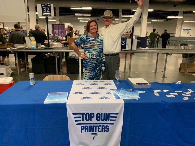 Cocoa Beach Regional Chamber of Commerce's Business Spotlight: Top Gun Painters.