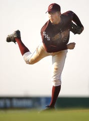 Sinton's Adrian Alaniz won his second All-South Texas MVP in 2003. Alaniz now coaches the Pirates baseball team.
