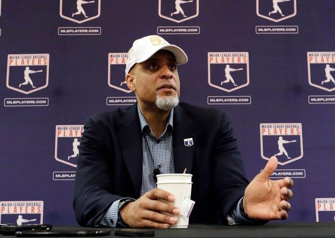 Major League Baseball Players Association Executive Director Tony Clark