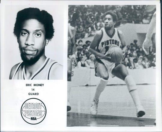 Eric Money, former Detroit Pistons guard.