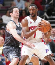 Ben Gordon with the Pistons in 2010.