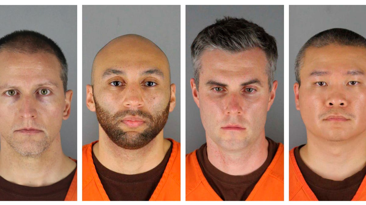 Ex-cops in Floyd death claim witness coercion, harm of leak 2