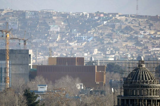 The U.S. State Department says Saturday that COVID-19 infections have been reported at its embassy in the Afghan capital and the staff who are affected include diplomats, contractors and locally employed staff.