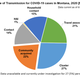 The above graphic on COVID-19 transmission is from a June 12 Interim Epidemiological Analysis for Montana.