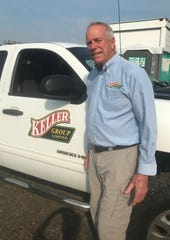 Keller Farms owner Bernie Fleming is involved in numerous local business ventures.