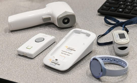 Public health researchers from New Mexico State University's College of Health and Services will conduct a six-month project to evaluate the feasibility of a telehealth system developed by Electronic Caregiver. The participants in the project – approximately 100 NMSU students and employees – received Electronic Caregiver's Premier telehealth system, a touchless temperature probe and a pulse oximeter.