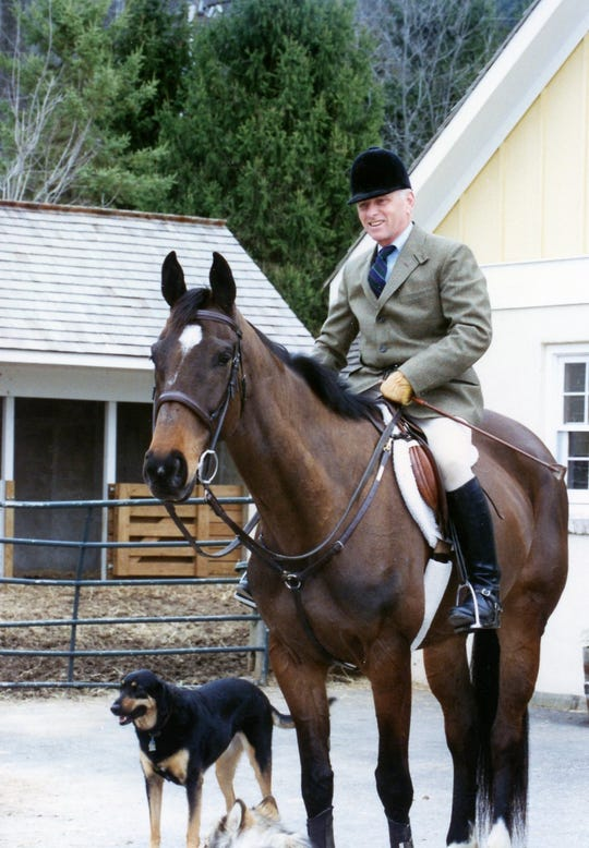 Bob Kinsley loved to ride horses.