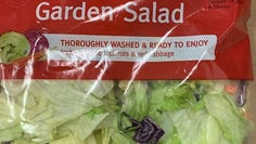 Consumers are being advised not to eat select brands of garden salad mix that may be linked to a multistate outbreak of Cyclospora.