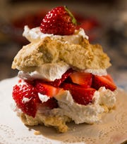 Sized for one person, strawberry shortcake is a good dessert to serve on the Fourth of July. In the year of coronavirus, think individually plated or wrapped sweets for a socially distanced celebration.