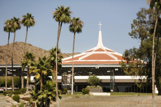 Dream City Church in Phoenix on June 21, 2020.