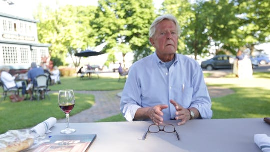 Bill Eberhardt, owner of The Sherwood Inn in Skaneateles, Onondaga County, talks about the difficulty of laying off 400 employees in March due to COVID-19 on Monday, June 15, 2020.