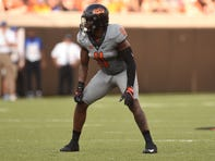 Oklahoma State linebacker Amen Ogbongbemiga has said he tested positive for coronavirus.