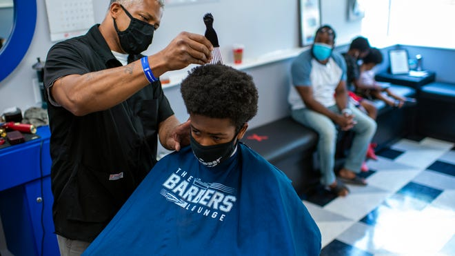 WATCH: South Jersey barber shops begin to reopen