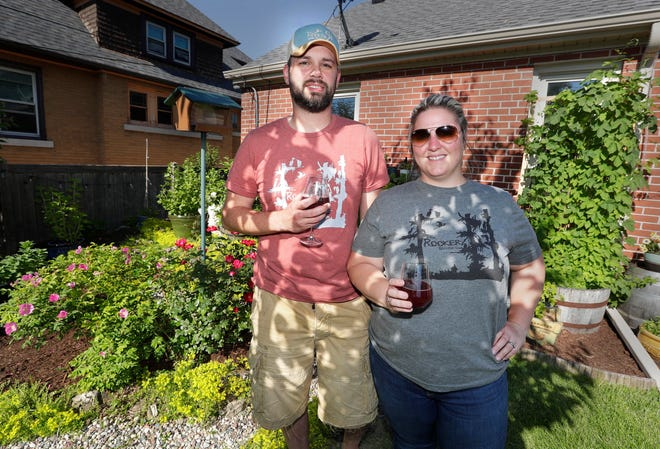 Ashley and Kiel McGuinness already make beer but they want to start their own brewery this summer. The Wauwatosa couple specialize in farmhouse ales and sour beers brewed with fruits grown in their backyard.