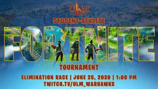 ULM student-athletes will return to the competitive arena on Thursday, June 25, as the athletic department has organized a ULM Student-Athlete Fortnite Tournament.