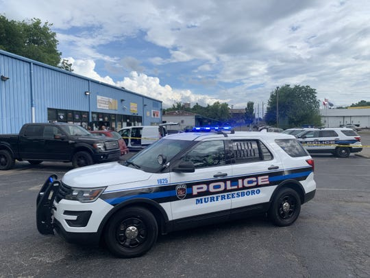 MPD is investigating a double shooting that took place Monday afternoon at University Package Wine and Liquor.