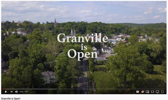 """In the wake of pandemic business closures, some temporary, some permanent, and a major bridge project, new video declares """"Granville is Open."""""""