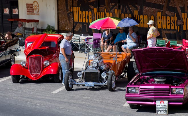 Over 200 cars were entered into the 2020 Yerington car show this past weekend.